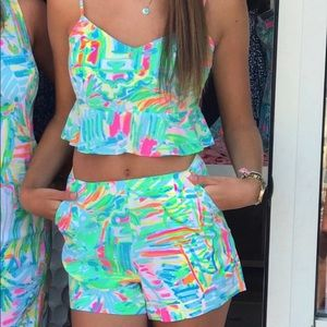 EUC Lilly pulitzer Linnea set